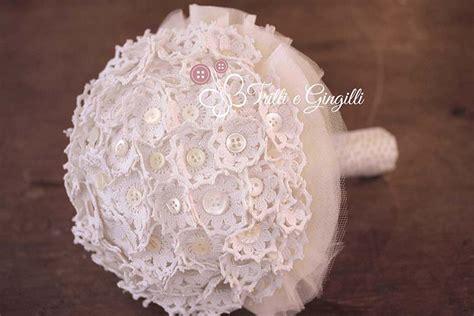 bouquet di fiori all uncinetto bouquet sposa di stoffa e tessuto ecco i modelli pi 249