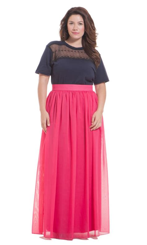 plus size wear maxi skirt prom stores