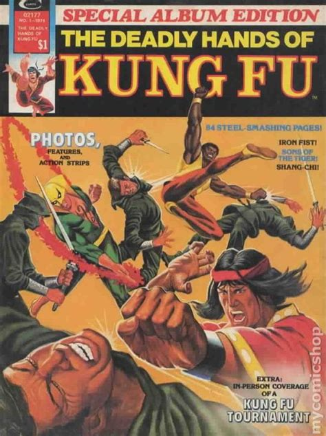 deadly hands of kung fu special album edition 1974 comic books