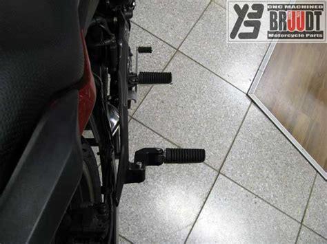 Tieferlegung Yamaha Mt 03 by Bruudt Cnc Machined Special Parts Sozius Fu 223 Rasten