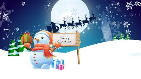 wallpapers merry christmas en hd snowman merry christmas wallpapers hd wallpapers id 10574