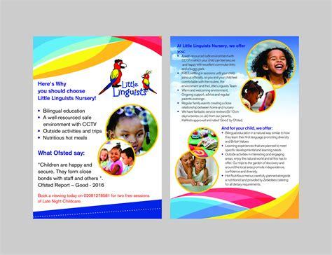 Nursery Brochure Templates Free by Nursery Brochure Templates Free Jose Mulinohouse Co