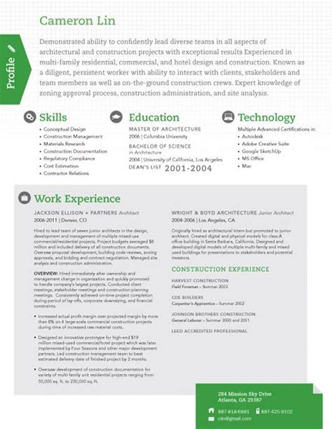 Resume Template True Scout Green Loft Resumes Loft Resume Template