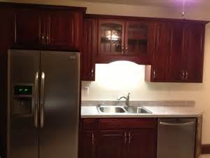 Diamond Kitchen Cabinets Lowes by Diamond Reflections Cherry Vancouver Cranberry