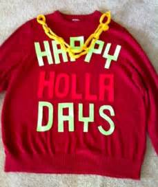 Happy Holla Days Sweater Christmas