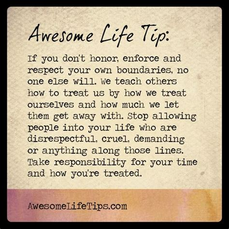 life tips awesome life tip teach others how to treat you gt gt www