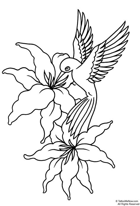 flower stencils printable your free printable tattoo