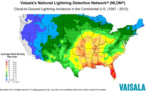 us weather lightning map lightning safety awareness week