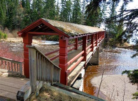Lutsen Cabins by Lutsen Resort Pedestrian Covered Bridge Picture Of