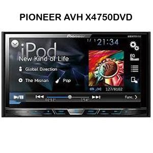 Tv Mobil Pioneer Avh X8550bt pioneer avh x4750dvd tv mobil dvd audio mobil multimedia