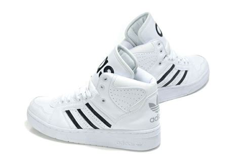 adidas shoes for high tops black and white