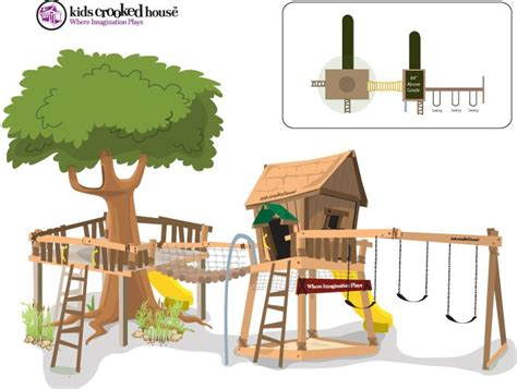 crooked tree house plans crooked playhouse plans woodworking projects plans
