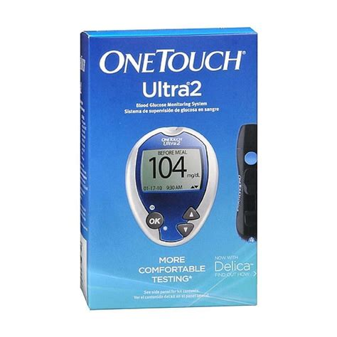 Test Gula Darah Onetouch Ultra one touch ultra 50 diabetic test strips health personal care