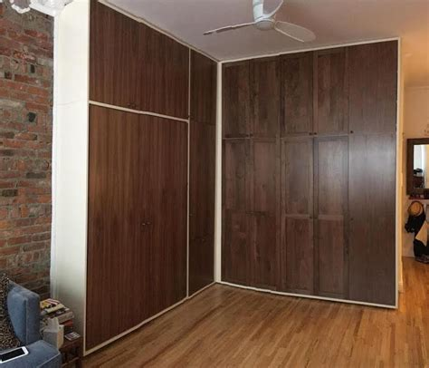 wall beds nyc project custom reach in closet wall bed nyc