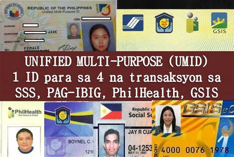gsis housing loan how to get 4 in 1 umid id autos post