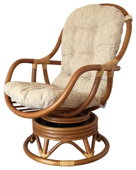 rattan swivel rocking chair erick tropical rocking chairs  alidia furniture