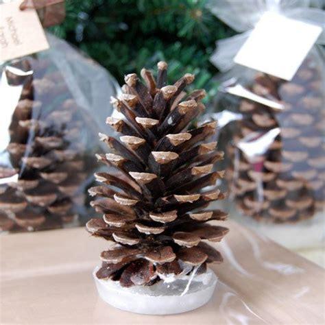 fireplace pine cones pine cone starter favor