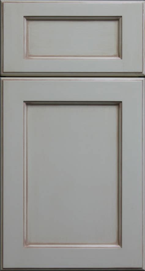 Shaker Style Cabinet Doors Painted Shaker Style Cabinet Door With Light Antique Chalking Farmhouse Kitchen Cabinetry