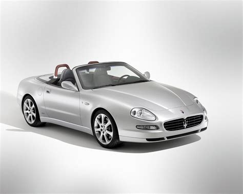 Maserati Photos by Maserati Spyder Convertible 2002 2005 Photos Parkers