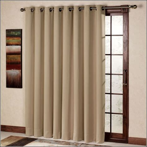 Patio Sliding Door Curtains by Patio Panel Curtains Grommet Patios Home Decorating