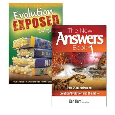 the new answers book the new answers book evolution exposed set answers in genesis