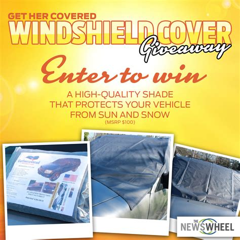 The Giveaway Newspaper - enter our giveaway all season windshield cover to repel sun snow the news wheel