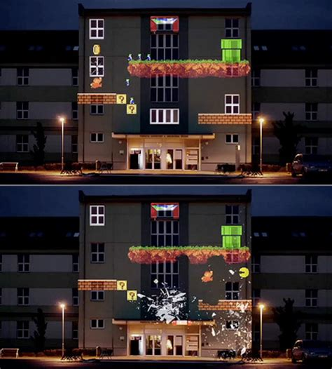 Apartment Activities 8 Bit Invader The Apartment Building Turned Retro