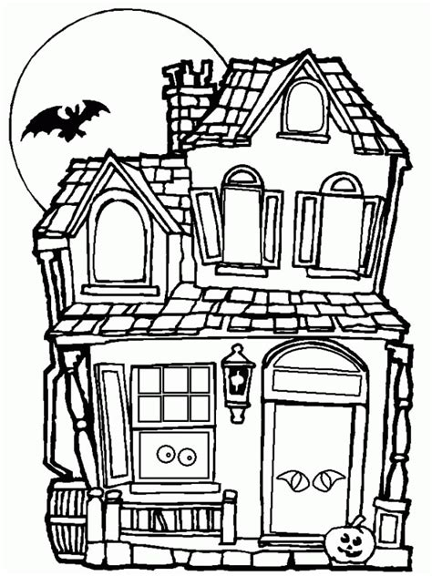 coloring pages big house big haunted house coloring page coloring home