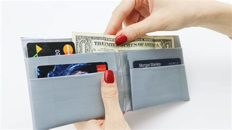 easy ways    duct tape wallet wikihow