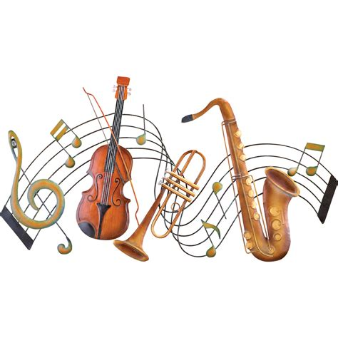 instrument with metal metal instrument and notes wall by collections