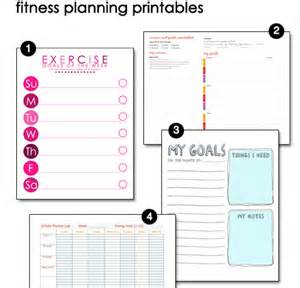 free printable fitness pages