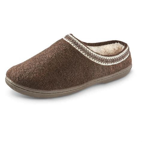 wool clogs for guide gear s wool clogs 642647 slippers at