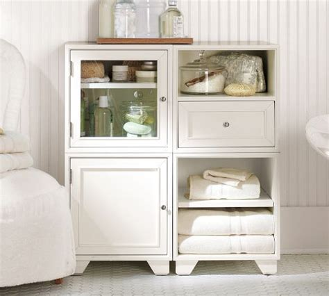 Bathroom Storage Cabinets Floor Modular Floor Storage Maybe For Master Bathroom Need A Cabinet With A Mix Of Open And