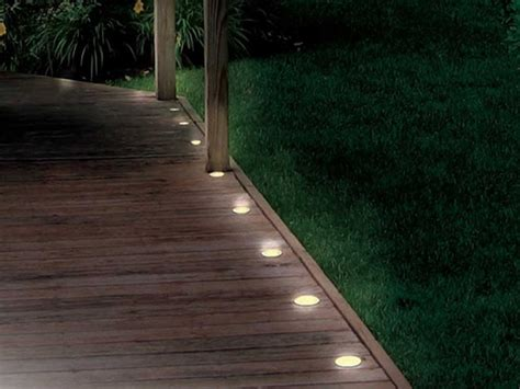 solar lights for deck solar deck and path 5 light string