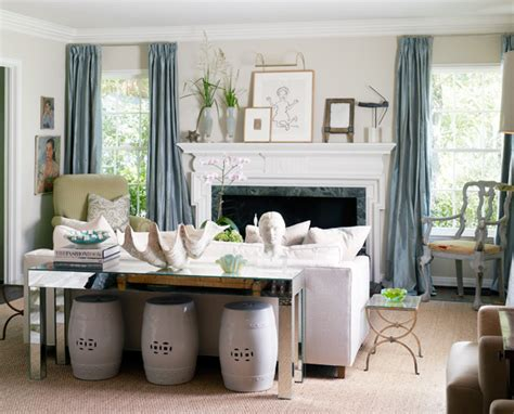 decorating console table behind couch sofa table inspiration styling the console table