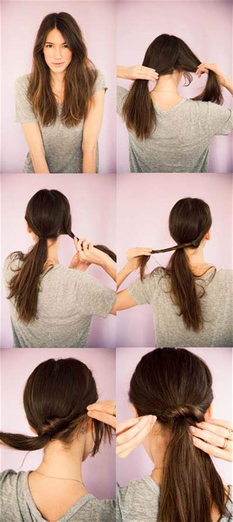 blogger hair tutorial ponytail twist a cup of jo