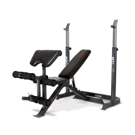 kmart bench press bench rack md 859p sears