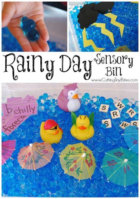 kindergarten themes weather rainy day sensory bin kindergarten weather and activities
