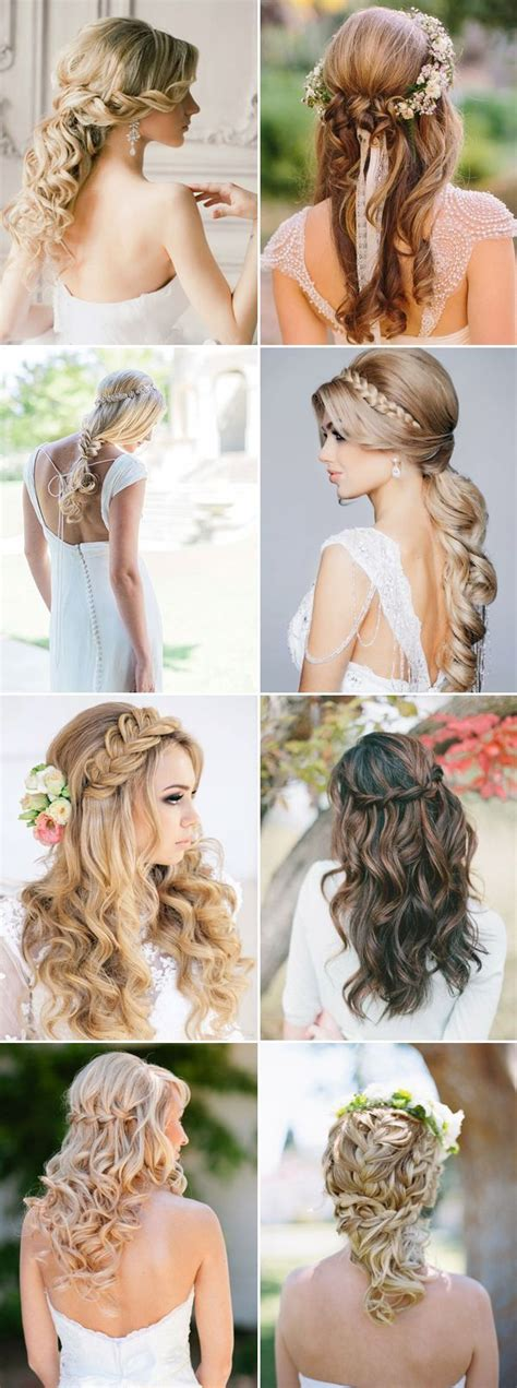pictures of wedding hairstyles half up half up half wedding hairstyles pictures photos and
