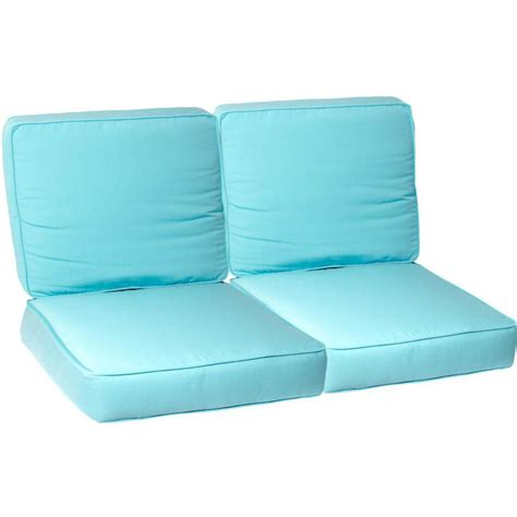 loveseat cushion set ultimatepatio com small replacement outdoor loveseat