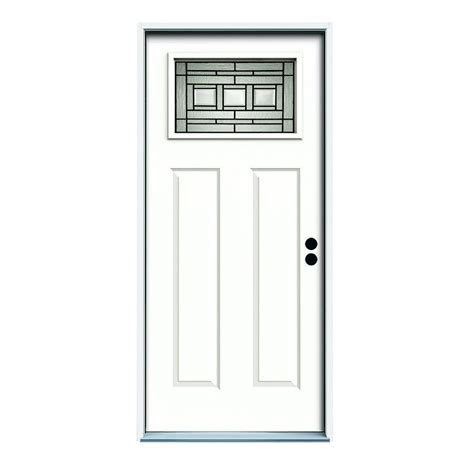 Exterior Door Frames For Sale Reliabilt Craftsman Inswing Steel Entry Door Lowe S Canada