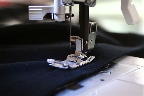 Sewing Upholstery by Free Photo Sewing Machine Sewing Precision Free Image