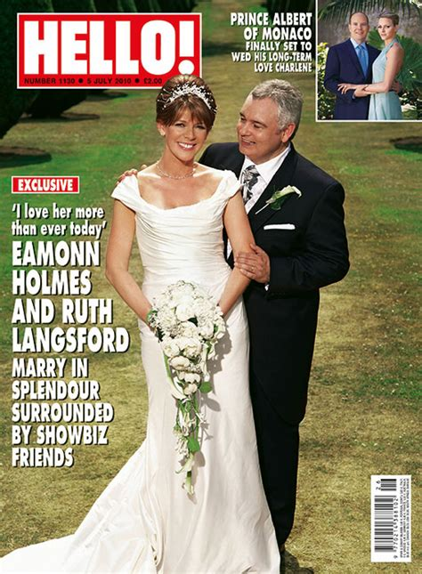 a look back at ruth langsford and eamonn holmes wedding