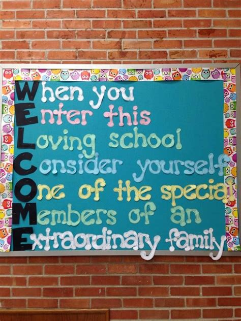 5 Amazing Ways To Welcome 2010 by Best 25 Welcome Bulletin Boards Ideas On Door