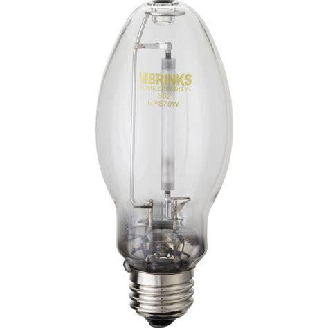 light bulb security brinks outdoor security 70w high pressure sodium bulb