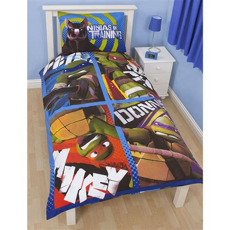 ninja turtles bedding teenage mutant ninja turtles bedding single duvet cover