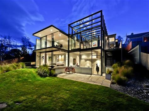 modern glass homes glass house by maria gigney architects enpundit