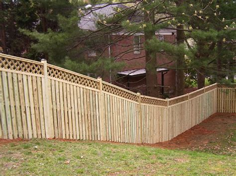 fencing a backyard yard fencing