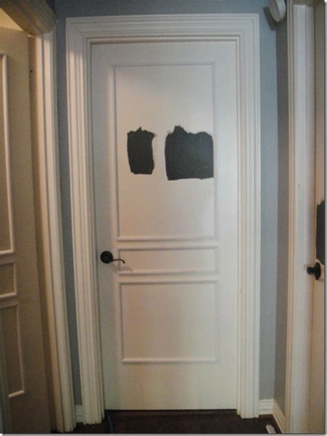 Interior Door Moldings Painting Interior Doors Black Southern Hospitality