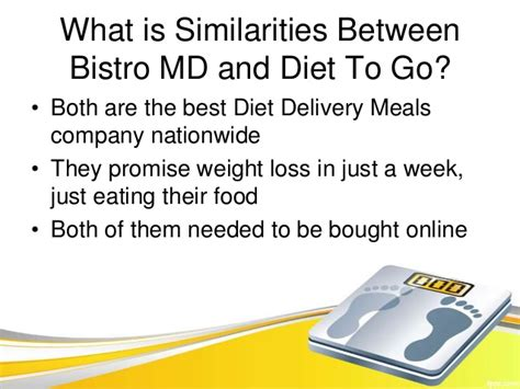 best diet to go on bistro md vs diet to go which one is the best